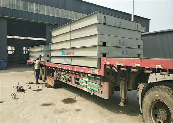 Modul Digital Weighbridge Dengan U Shape Beams Dan Channel Steel
